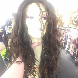 Long Swisslace Lacefront Wig Loose Curls Wig